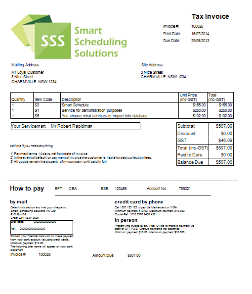 Instant Invoicing Smart Scheduling Solutions - Instant invoice
